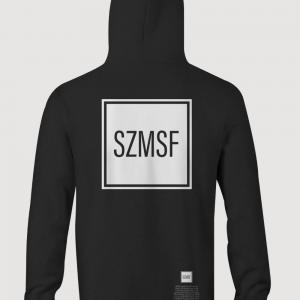 SZMSF Panel Hoody black